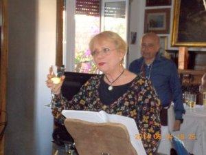 L'attrice e cantante Mariella Chiarini