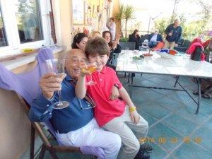 ....con Stefano....