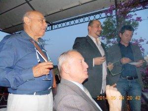 con Giancarlo Civelli e Graziano Mereu