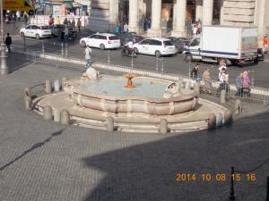 3. La fontana dis. da  Giacomo Della Porta